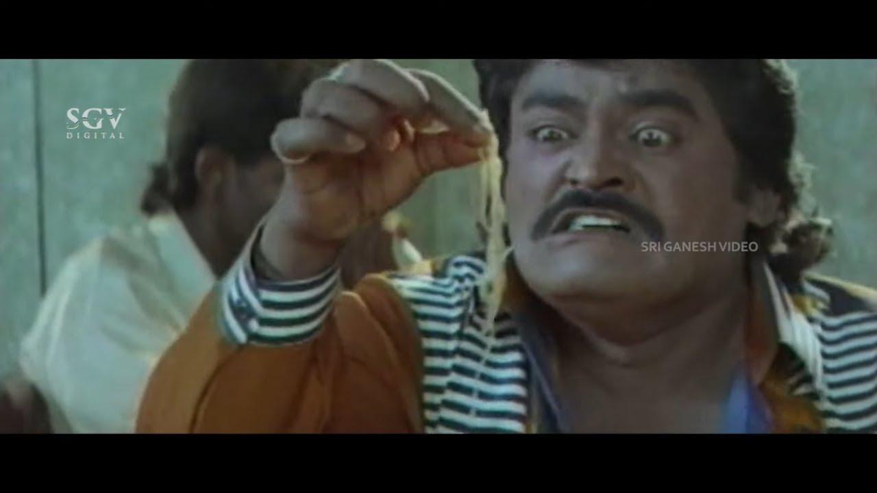 ನೂಡಲ್ಸ್ ನೋಡಿ ಮಣ್ಣು ಹುಳ ಅಂತ ಹೆದರಿದ ಜಗ್ಗೇಶ್ | Pattanakke Banda Putta Kannada Movie Part-6