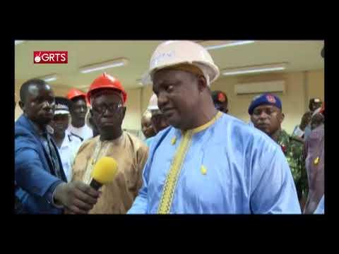 President Barrow Reaffirm his resolve towards Energy Crises