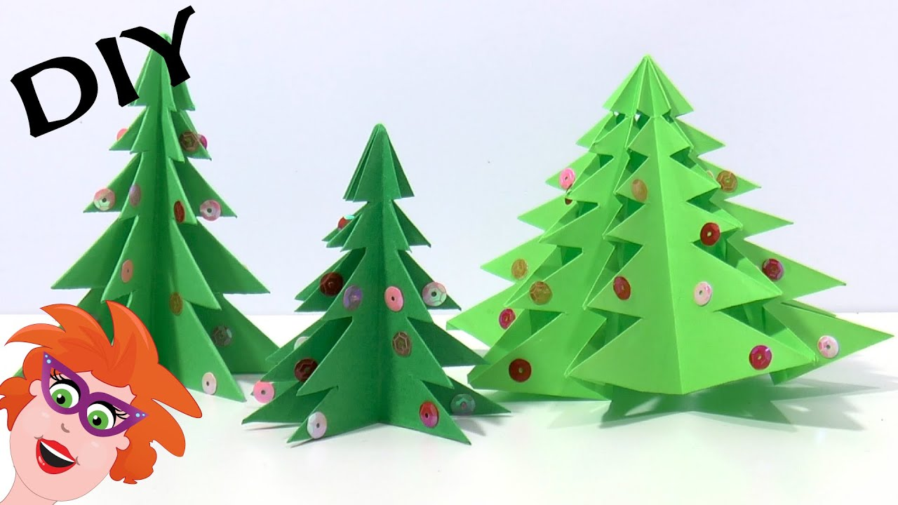 Diy Origami Kerstboom Vouwen Youtube