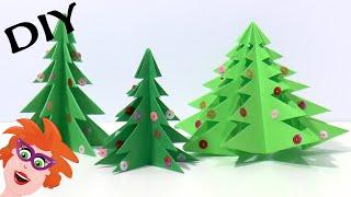 DIY Origami kerstboom vouwen