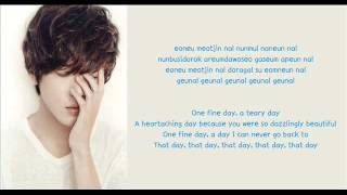[Eng Sub] Jung Yong Hwa - One Fine Day Lyrics