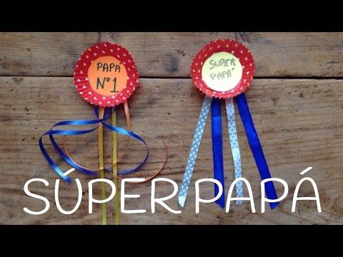 Manualidades para el d a del padre medalla para pap - Regalos originales para el dia del padre ...