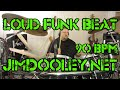 Download Loud Funk Drum Beat 90 BPM JimDooley.net MP3 song and Music Video