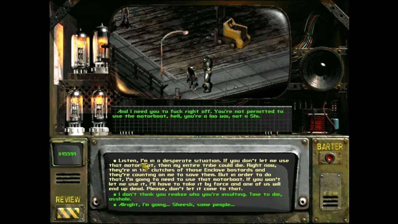 Let's Play Fallout 2: Restoration Project - 75 - Shi Submarine