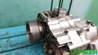 Переделка китайского двигателя на 250 кубов (167fmm)