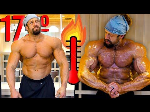 Working Out in 175° Sauna = MASSIVE PUMP?