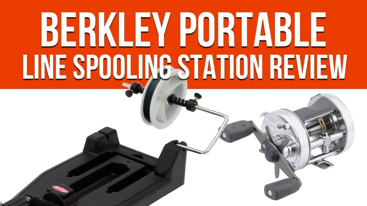 Berkley line winders - Berkley Portable Line Spooling Station Review