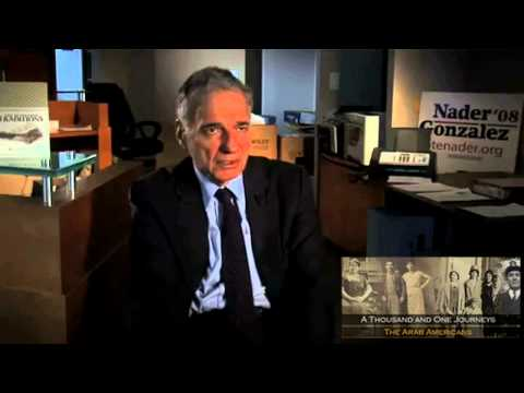 Ralph Nader - Arab American Experience Interview