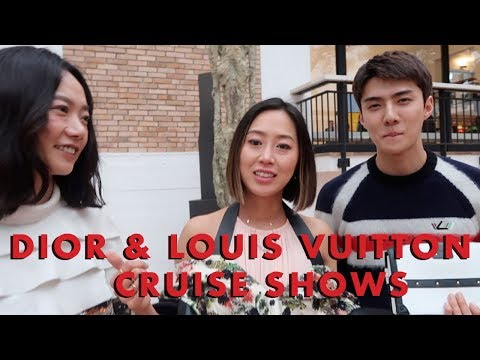 Dior & Louis Vuitton Cruise shows, Europe Vlog Part 1  Vlog#60  Aimee Song