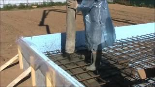 Заливка фундамента - монолитная утепленная плита(Заливка фундамента по технологии sweden plate (шведская плита) - утепленная монолитная фундаментная плита. Подро..., 2012-09-21T06:59:59.000Z)