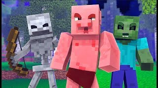 Modded Left 4 Dead 2 Minecraft Mod Funny Moments #3 - 2500 Likes For Another Series