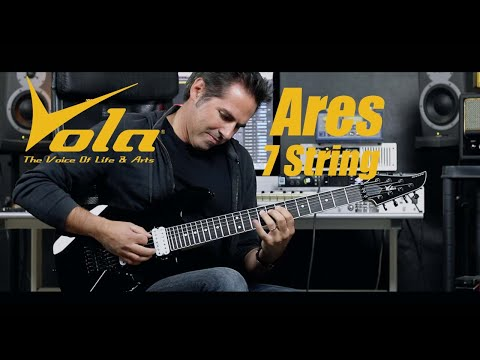 Vola Ares 7 string demo by martial allart