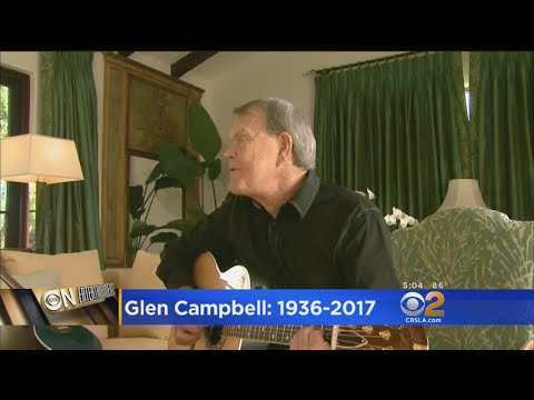 County Music Icon Glen Campbell Dies