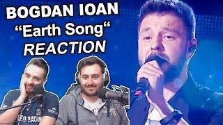 """Bogdan Ioan - Earth Song"" Singers Reaction"