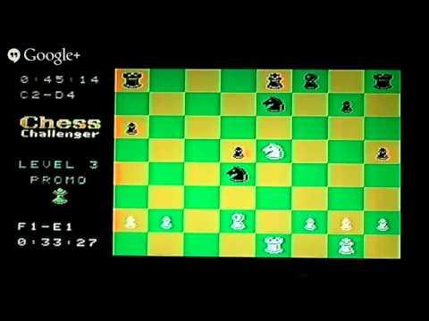 Intellivision vs Colecovision Chess