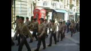Annual Parade 2012 Fgura Boys Scouts