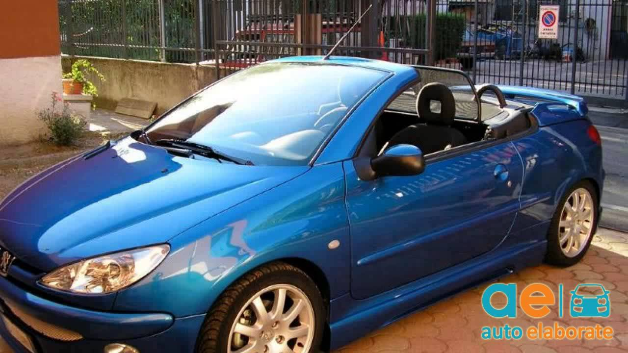 peugeot 206 cc 16v tuning youtube. Black Bedroom Furniture Sets. Home Design Ideas