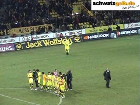 BVB - Nürnberg 4-0 - (05.12.2009) Borussia Dortmund vs 1. FCN (3/3) Nach dem Spiel