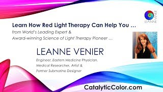 How RED Light Therapy Heals & TRUTH about Infrared Saunas-Leanne Venier Light Therapy Science Expert