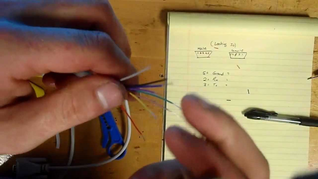 How To Identify Wires On A Serial Cable