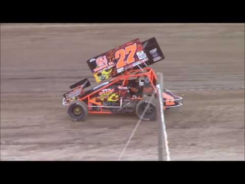 Butler Motor Speedway Sprint Heat #1 7-16-16