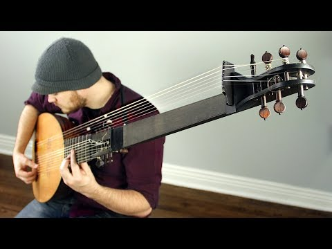 Theorbo (The enormous 14 string lute)