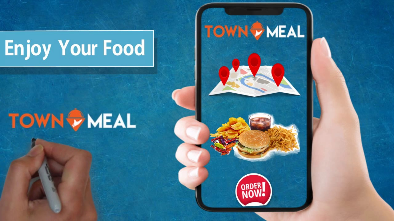 Food Delivery App Promotional Video Made By -- animation bazaar -- Video  marketing