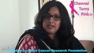 Chennai Turns Pink - Pink Ambassador Ms.Radhika Ganesh