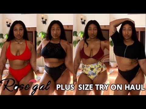 2ba235ac73178 Plus size & Women Swimwear Bikini Lookbook- Rosegal - YouTube