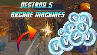 Fortnite STW - Destroy 5 Arcade Machines