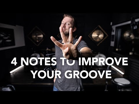 4 Notes to Improve Your Groove - Drum Lesson