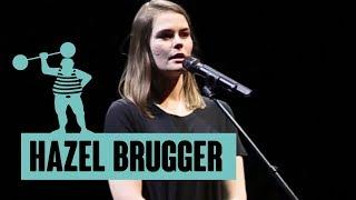 Hazel Brugger - Im Namen des Fötus, des Hohnes und des ewigen Spottes, eine Kindheitsbewältigung