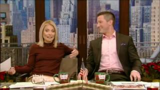 Live With Kelly 12/13/2016 co host Richard Curtis;Marion Cotillard; Peter Gros brings anim