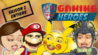 GAMING HEROES - Saison 2 complète