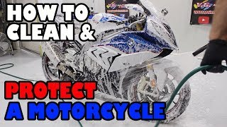 How to Motorcycle detail and ceramic coated
