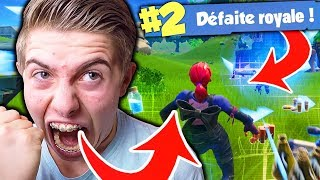 J'AI PÉTÉ UN CÂBLE SUR FORTNITE BATTLE ROYALE !!!