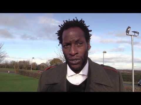 Ugo Ehiogu remembers Dalian Atkinson during funeral