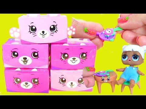 #SHOPKINS Happy Places Яичница для Кукол Blind Bags Видео для Детей #Шопкинсы Распаковка - Простые вкусные домашние видео рецепты блюд