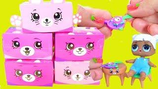 #SHOPKINS Happy Places Яєчня для Ляльок Blind Bags Відео для Дітей #Шопкинсы Розпакування