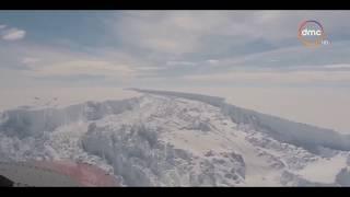الاخبار - إنفصال أكبر جبل جليدى فى العالم عن القارة القطبية الجنوبية