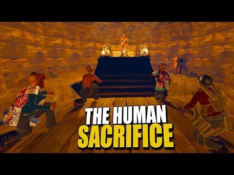 THE HUMAN SACRIFICE (Rust Survival) #34