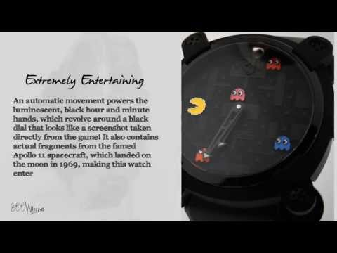See This Romain Jerome Moon Invader Pac Man RJ.M.AU.IN.009.03 Auto Watch