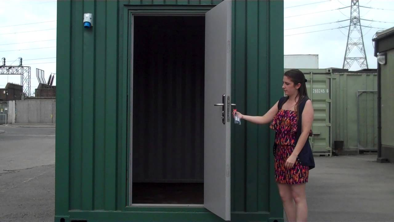 Shipping Container Conversion With Access Door Www
