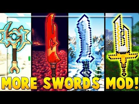 MORE SWORDS MOD - Minecraft Colosseum Battle (TWITTER PROFILE CHANGE CHALLENGE)