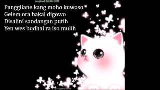 'Eling-eling' with lirik Lagu Syahdu Pengingat Kematian