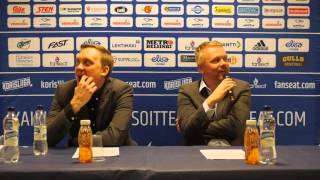 Helsinki Seagulls vs. Kauhajoen Karhu 04.04.2016 Lehdistötilaisuus