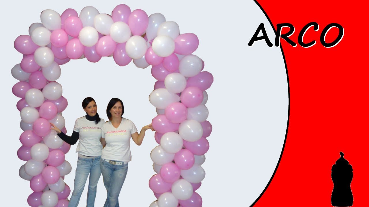 Famoso Sculptures with balloons - Arch - Special Baptism - YouTube PH29