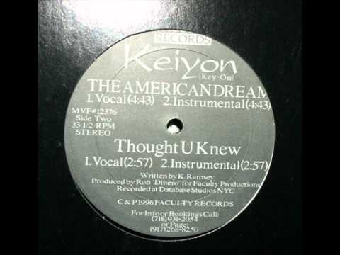 Keiyon - The American Dream