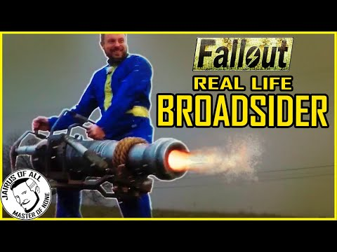 BROADSIDER Real Life Fallout Canon Test Video