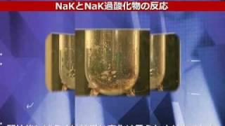 ナトリウムカリウム合金およびその過酸化物の発火・爆発危険性評価
